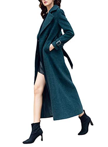 Plaer Plaer Vert Vert Manteau Manteau Femme Foncé Femme Plaer Femme Vert Foncé Foncé Manteau 64fIzwyq