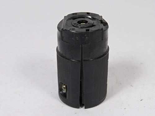 Hubbell 7593 Midget Twist-Lock Connector 15A 125V 3W ()