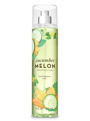 Bath & Body Works Cucumber Melon Fine Fragrance Mist, 8 - Fragrance Freshwaters