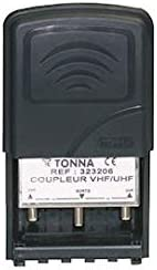 Tonna 323206 Coupleur 2 entr/ées VHF//UHF pass