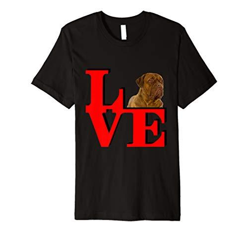 My Dogues de Bordeaux Love Park  Premium T-Shirt