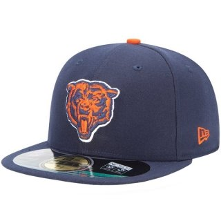 Chicago Bear NFL On Field Alternate Logo Fitted Hat (7 1/4)