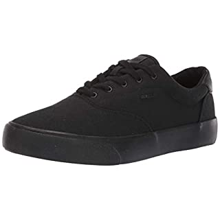 Lugz Men's Flip Sneaker, Black, 11.5 D US