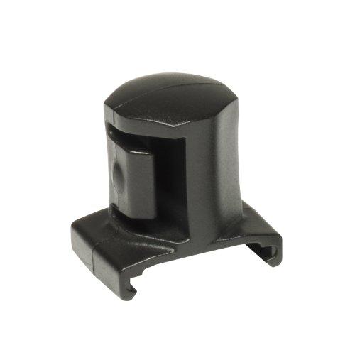 Ernst Manufacturing 3/4-Inch Dura Pro Twist Lock Socket Clips, 5-Pack, Black