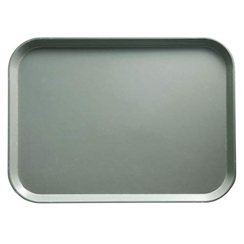 Cambro 1520107 Camtray Pearl Gray 15 x 20-1/4 Serving Tray - Dozen