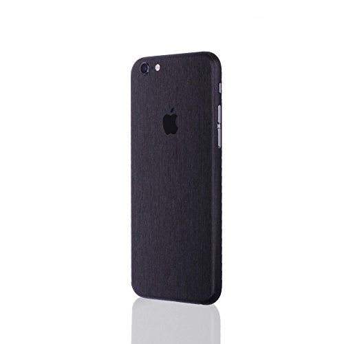 AppSkins Rückseite iPhone 6 PLUS Full Cover - Metal black