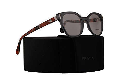 Prada PR06TV Eyeglasses 50-20-135 Transparent Grey w/Demo Clear Lens TKY1O1 VPR06T VPR 06T PR - Pr 59