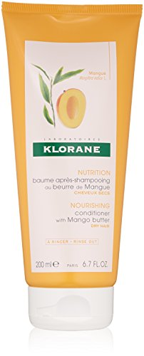 (Klorane Nourishing Conditioner with Mango Butter, Moisturize and Hydrate Dry Hair, Paraben, Silicone, Sulfate Free, 6.7 oz.)