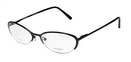f56c996c61 Vera Wang Epiphany Ii For Ladies Young Women Girls Designer Half-rim  Titanium Crystals Spring Hinges Italian With Eyeglasses Eye Glasses  (52-17-140