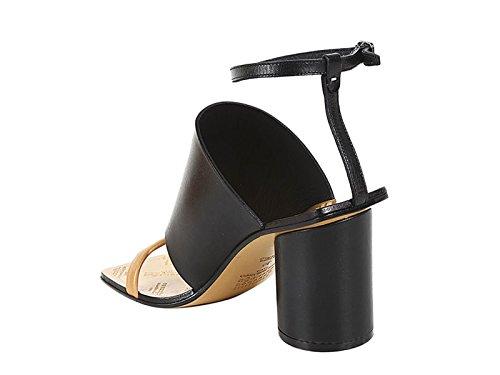 Cuero Margiela Negro Maison S38WP0336SX9114961 Sandalias Mujer ZPyWWc