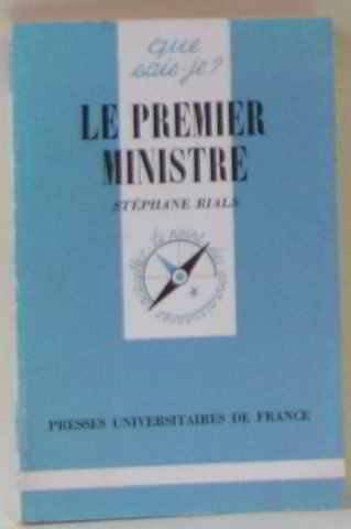 Le Premier ministre Broché – 4 novembre 1992 Stéphane Rials 2130392512 Premiers ministres - France