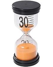 Amosfun Temporizador de Reloj de Arena Temporizador de 30 Minutos Niños Adultos Jugando Regalos de Juguete Decoración de Oficina