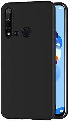 AICEK Funda Compatible Huawei P20 Lite 2019, Negro Silicona Fundas ...