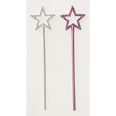 Mini Star Princess Wand Party Favors, 8ct: Kitchen & Dining