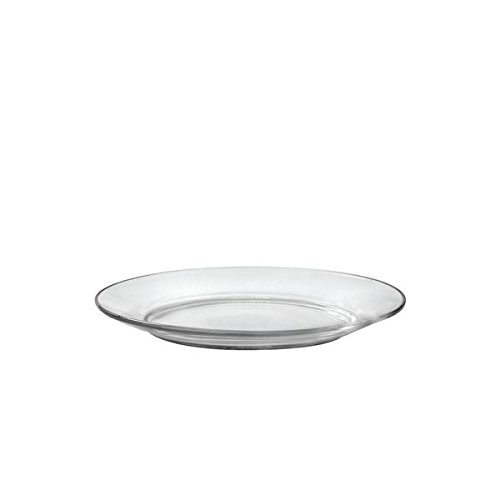 Duralex Made In France Lys 7 1/2 Inch Clear Dessert Plate, Set of 6