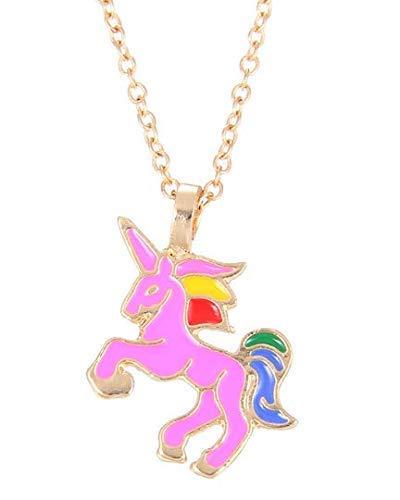 IMBSB Unicorn Pendant Lega Collana a catena Accessori per gioielli Regali 1 Pcs