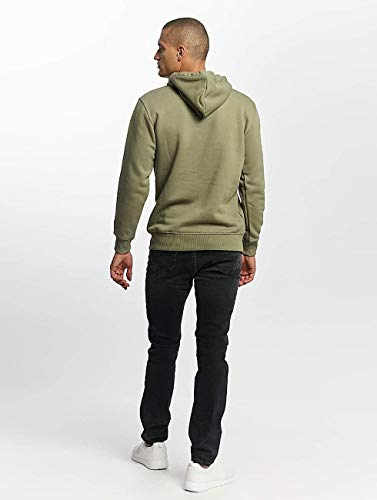 Alpha Ropa Hombres Olive Basic Sudadera Industries Superior S8SHqw