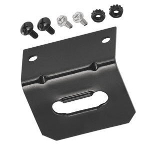 Hidden Hitch 4-Flat Mounting Bracket Quantity 2 by Tow Ready