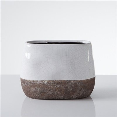 torre-and-tagus-corsica-ceramic-crackle-2-tone-oval-pot-tall-white