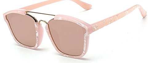 GAMT Fashion Sunglasses Colored Frame Mirrored Lens Pink (Cheap Coloured Contact Lenses)