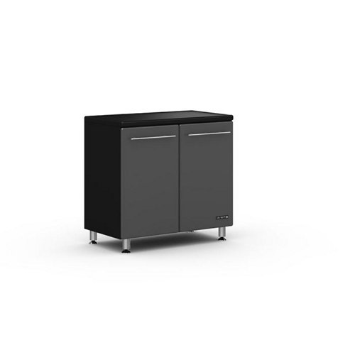 Ulti-MATE Starfire Pearl 35.5 in. Garage Base Cabinet with Adjustable Shelf
