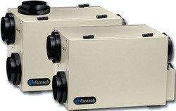 Fantech SHR 3005R Heat Recovery Ventilator, HRV 65, 231 Cfm at 0.4