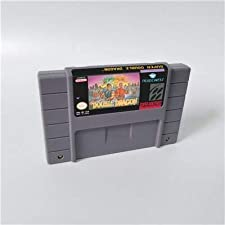 Game card - Game Cartridge 16 Bit SNES , Game Super Double Dragon - Action Game Card US Version English Language