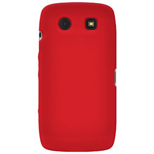 Amzer Silicone Skin Jelly Case for BlackBerry Torch 9850/9860 - Red Blackberry Torch Silicone Skin