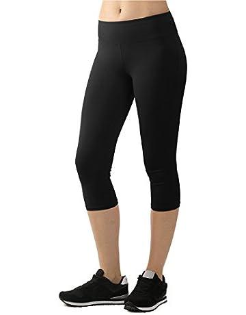 ee18785e40de Lock and Love Women's Cotton Span Strech Slim-Fit Bootleg Yoga Pants S-XXXL