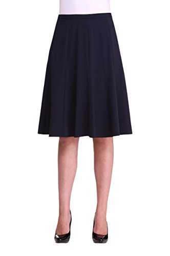 Gored Skirt DkNavy 18 (Stretch Americana Skirt)
