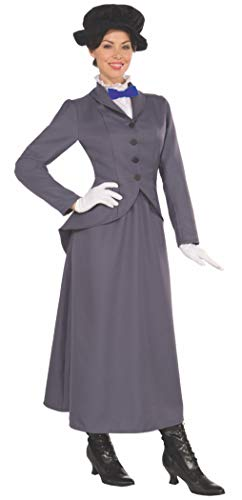 English Nanny Adult Costume Size