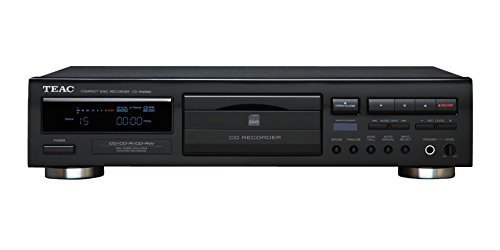 Teac CD Recorder, PLAYS & RECORDS CD, CD-R, and CD-RW Discs with Free Remote Control Included (Sale Cd Rack)
