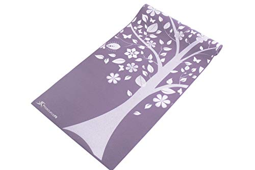 """ProsourceFit Yoga Mats 3/16"""" (5mm) Thick for Comfort & Stability with Exclusive Printed Designs"""