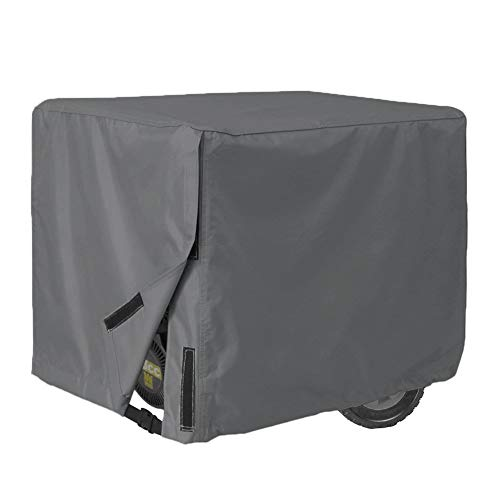 Oak Dweller Generator Cover-100% Waterproof Durable Universal-Heavy Duty Resistant Storage Cover,Fits Generators up to 28x38x30 inch,Gray 3 Years Warranty