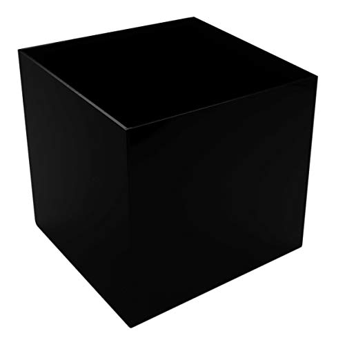(Marketing Holders Pedestal Stand for Art Display Cube for Baseballs Retail Riser Collectible Cover 5 Sided be for Baseballs Retail Riser Collectible Cover 5 Sided 12