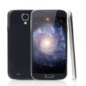 "I9502+ 5.0"" Android4.2.2 OS Dual Core MTK6572 1.2GHz RAM512MB Smart Bar Cellphone Black (EU Standard)"