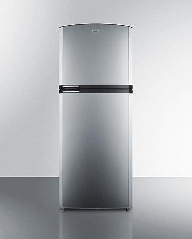 Merveilleux SUMMITu0027s Frost Free Slim Refrigerator Freezer W/IceMaker   Right Hand