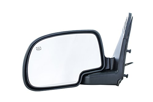 Dependable Direct Left Driver Side Textured Heated Folding Door Mirror Cadillac Escalade ESV Chevy Suburban 1500 2500 Tahoe GMC Yukon XL (2000 2001 2002 2003 2004 2005 2006)