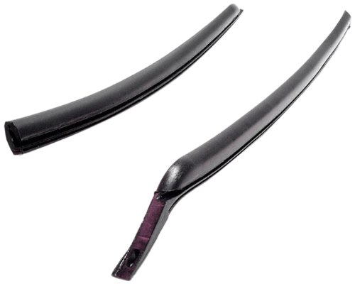 Metro Moulded Parts IS-VS 3-Q Molded Rear Roll-Up Window Seal for 2-Door Hardtop and Convertible