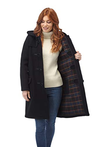 Original Montgomery Womens Duffle Coat - Navy Size 12 ()