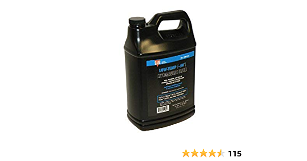 Lawn Mower Parts 6 Quart 50/° Snow PLOW Hydraulic Oil for Meyer 15134 Western 49311 Fisher 28531