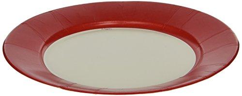 caspari-entertaining-linen-dinner-plates-red-8-pack