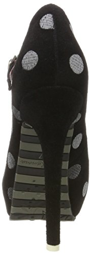 black Plataforma Lola Ramona Zapatos Con Negro 23 Para Mujer Marilyn n881qgR