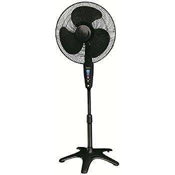 """Kaz Honeywell HS-1655 QuietSet 16"""" Stand Fan - Black"""