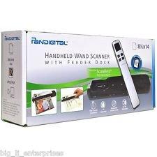 Pandigital Handheld Wand Scanner with Feeder Dock