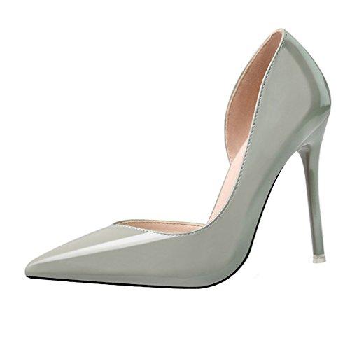 Bout Chaussures Pompes Hauts Escarpins Xianshu Aiguille Talons Femme x8YWwRqtU
