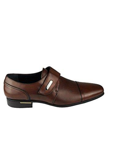 Zerimar Herren Lederschuh Schuh Leder Casual Schuh Täglicher Gebrauch Schöne Leder Sportlich Schuh für Den Mann Hochwertige Leder Schuhe Elegant mit Lederfutter 100% Leder Farbe Leder Größe 44