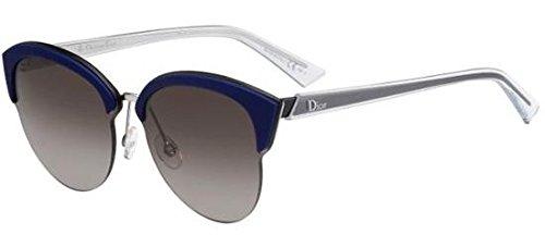 Dior Sunglasses Dior Run/S Sunglasses BMGHA Palladium Blue Black 65mm (Lady Dior 2 Sonnenbrille)