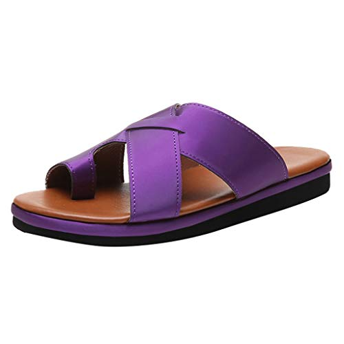 Clearance! Hot Sale! ❤ Women Comfy Platform Sandals Wedges Summer Travel Shoes Fashion Beach Sandals Indoor Outdoor Beach Platform/Wedge/High Heel Sandals Slippers for Ladies