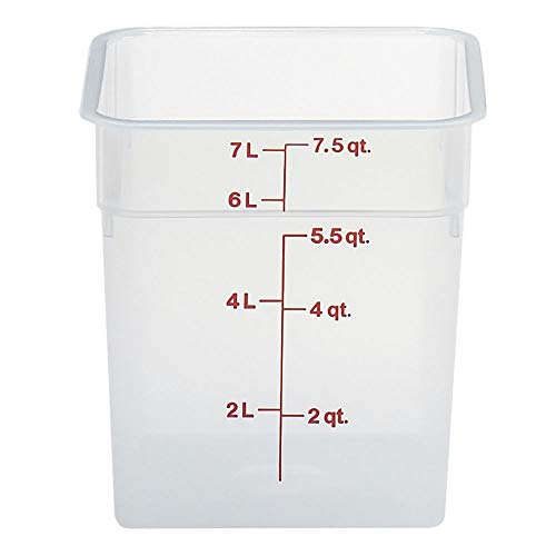 Cambro (8SFSPP190) 8 qt Polypropylene Food Storage Container - CamSquare